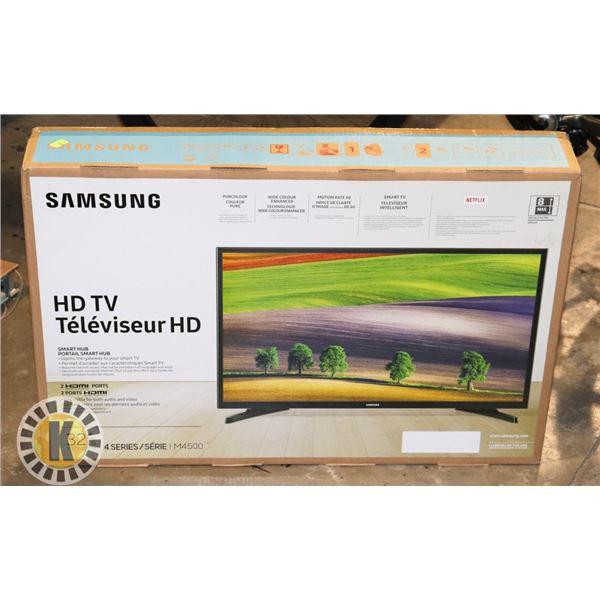 "NEW SAMSUNG 32"" HD TV (SMART HUB TV)"