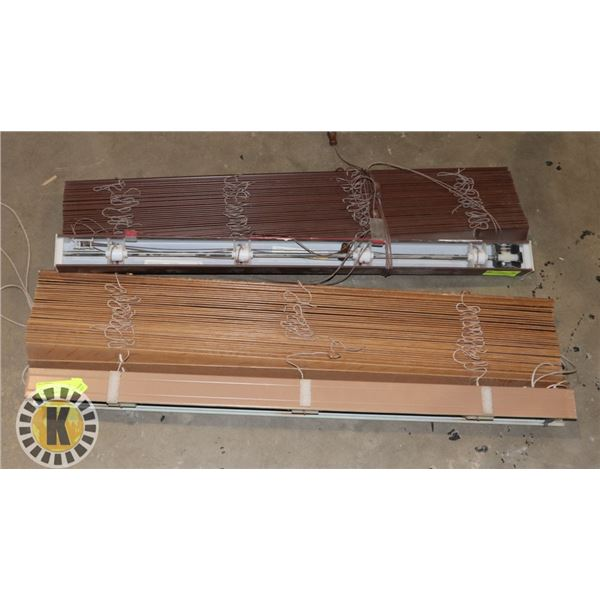 TWO SETS OF BLINDS