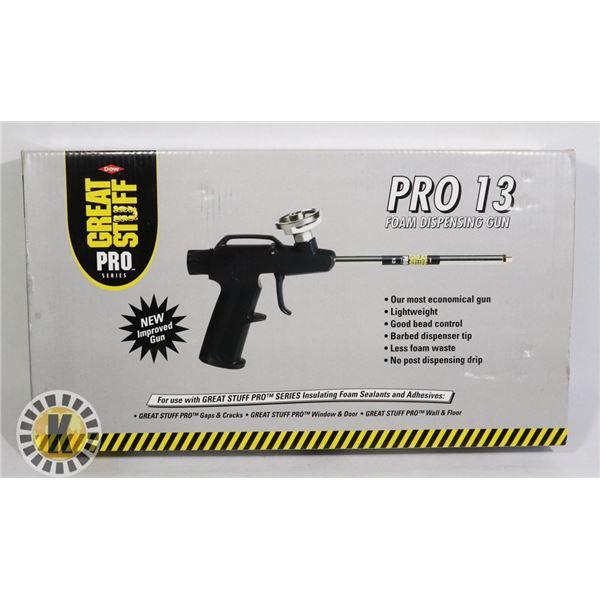 PRO 13 FOAM DISPENSING GUN