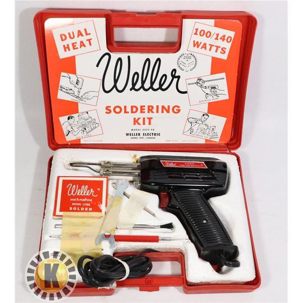 WELLER ELECTRIC SOLDERING KIT MODEL 2800