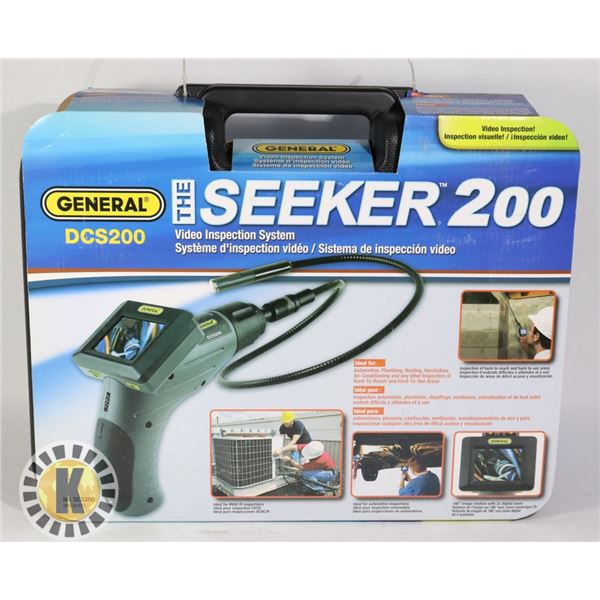 THE SEEKER 200 VIDEO INSPECTION SYSTEM- DCS200