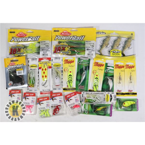 FLAT OF ASSORTED FISHING TACKLE