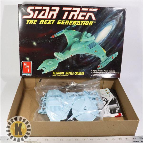 STAR TREK KLINGON BATTLE CRUISER SEALED IN BAGS