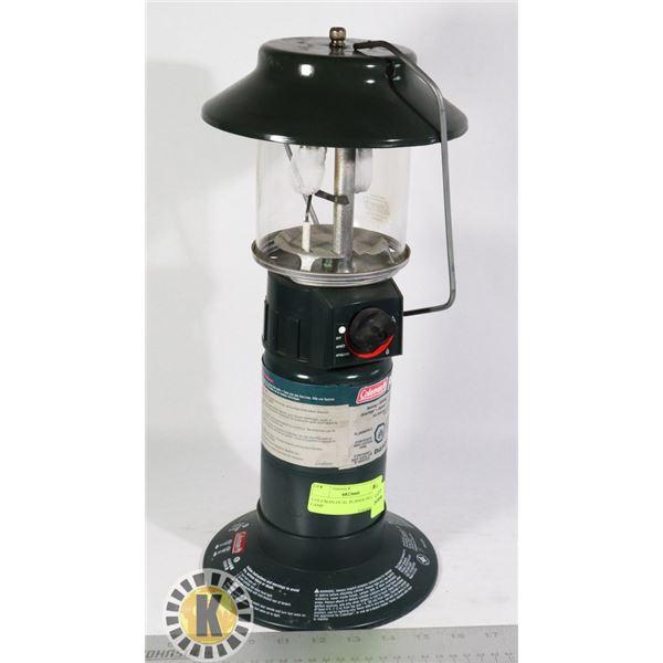 COLEMAN DUAL BURNER PROPANE LAMP