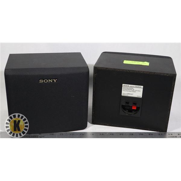 2 SONY SPEAKERS-  SS-SR100