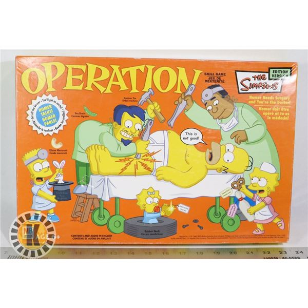 SIMPSON'S OPERATION GAME