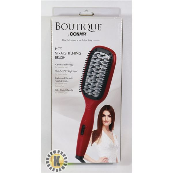BOUTIQUE BY CONAIR HOT STRAIGHTENING