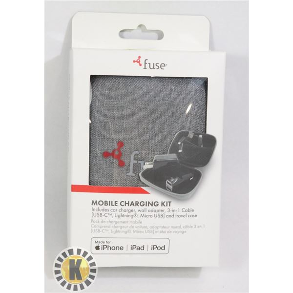NEW FUSE MOBILE CHARING KIT