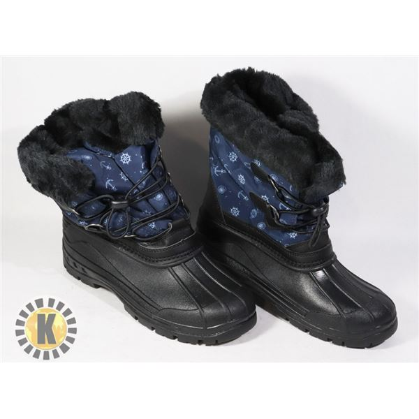 WINTER BOOTS KIDS SIZE 36 COZY AND WARM