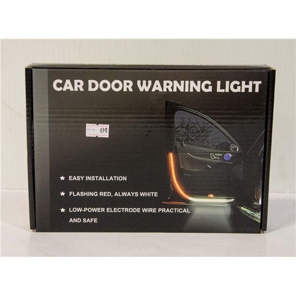 CAR DOOR LED FLASHING STRIP WARNING