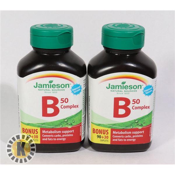 JAMIESON VITAMIN B 50 COMPLEX