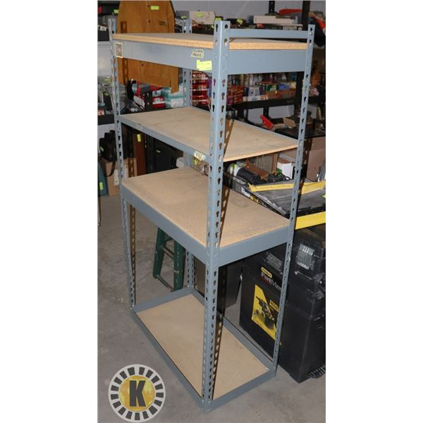 METAL AND WOOD COMMERCIAL GRADE STORAGE