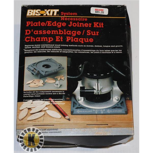 BIS-KIT PLATE/EDGE JOINER KIT