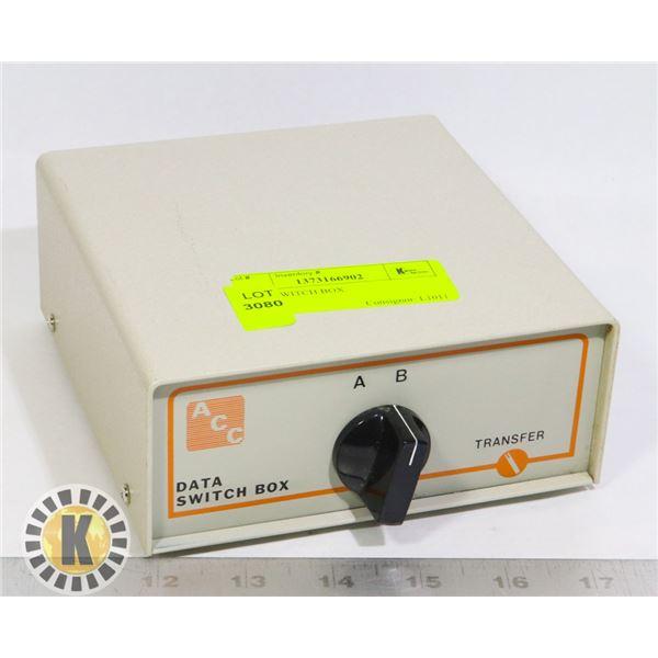DATA SWITCH BOX
