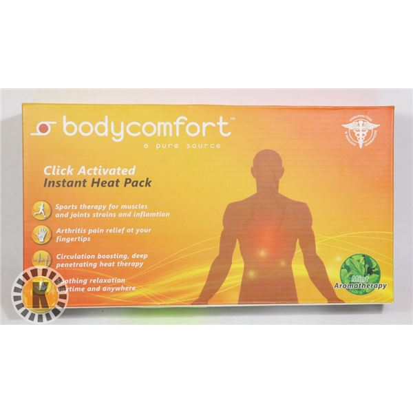 CLICK ACTIVATED INSTANT HEAT THERAPY PACK