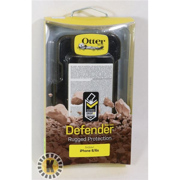 OTTER BOX DEFENDER SERIES FOR IPHONE 6/6S