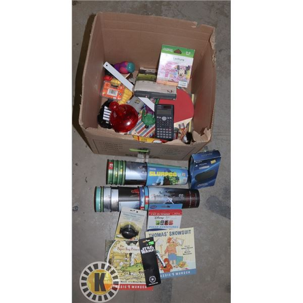 BOX OF TOYS AND MORE