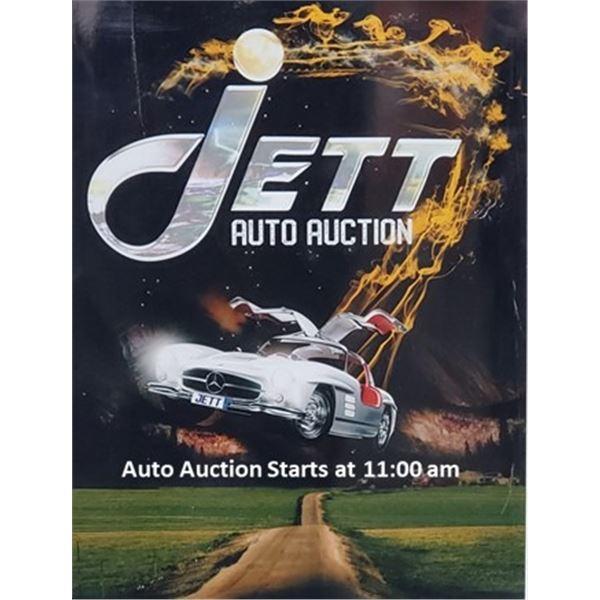 Jett Auto Auction Saturday June 26, 2021