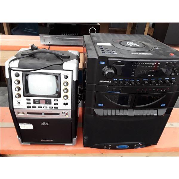 2 Karaoke Machines