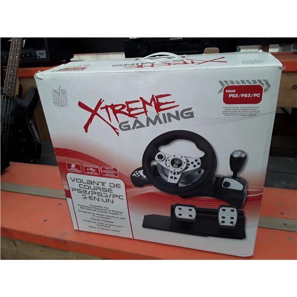 Extreme gaming car racing equipment