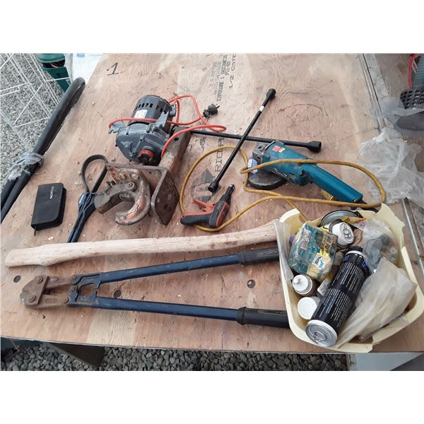 Lot of Hand and Power Tools