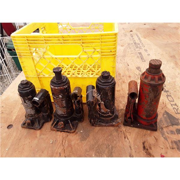 Crate Of Bottle Jacks