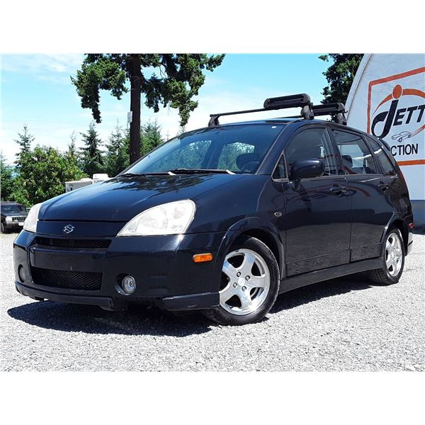 B6 --  2004 SUZUKI AERIO SX AWD  , Black , 242508  KM's