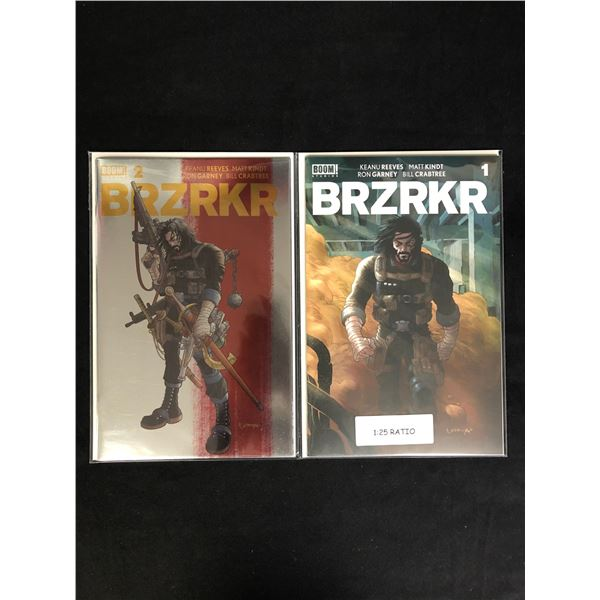 BRZRKR #1-2 (BOOM STUDIOS)