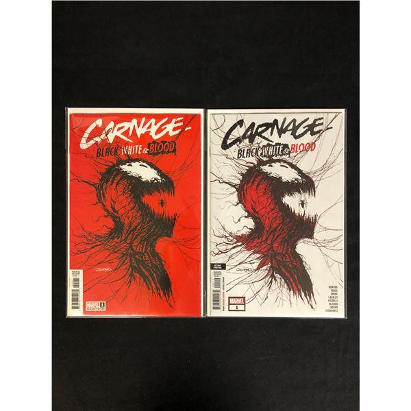 CARNAGE - Black, White & Blood #1s (MARVEL VARIANTS)