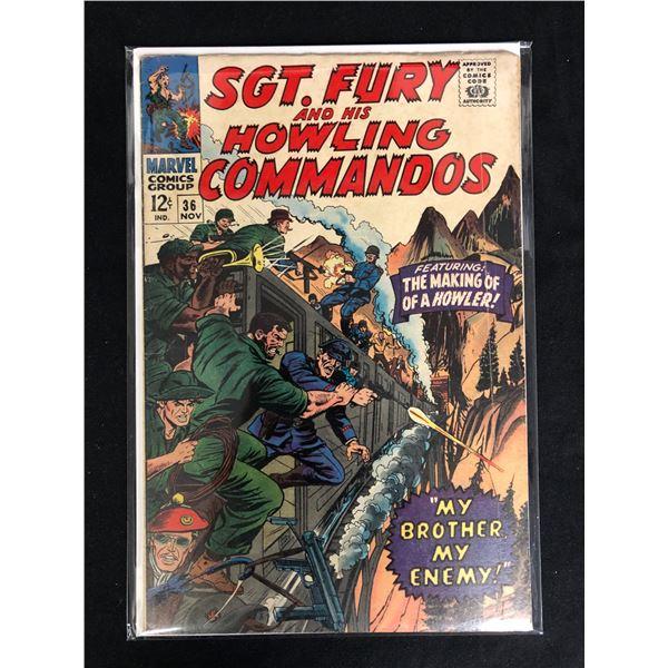 SGT. FURY AND HIS HOWLING COMMANDOS #36 (MARVEL COMICS)