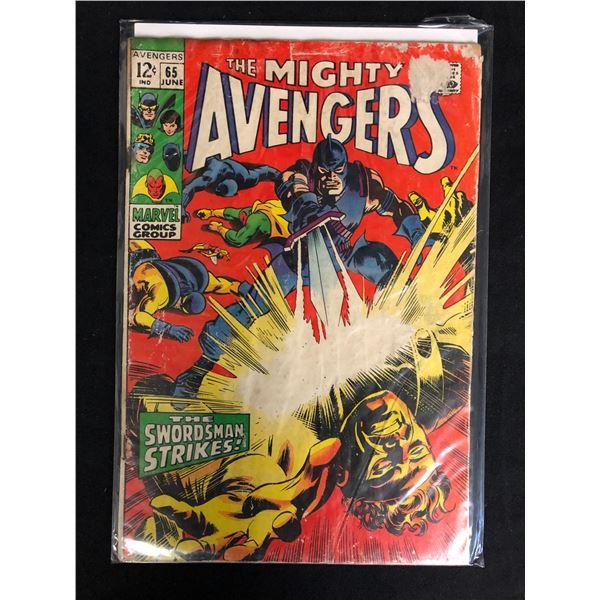 THE MIGHTY AVENGERS #65 (MARVEL COMICS)