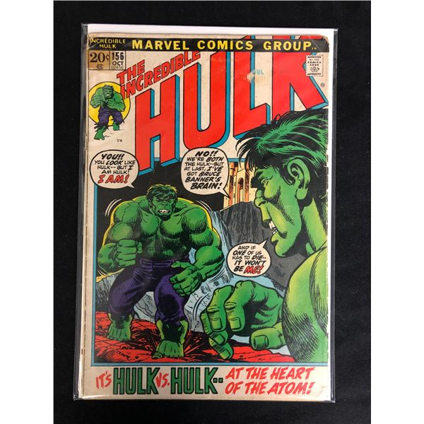 THE INCREDIBLE HULK #156 (MARVEL COMICS)