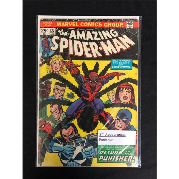 The AMAZING SPIDER-MAN #135 (MARVEL COMICS)