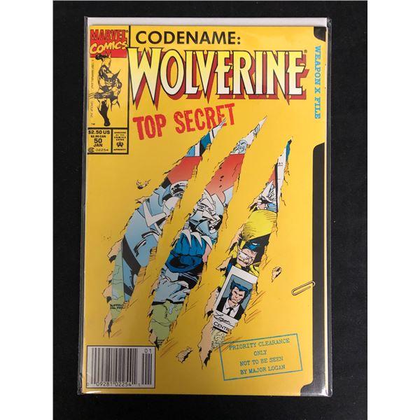 Codename: WOLVERINE Top Secret #50 (MARVEL COMICS)