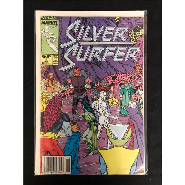 SILVER SURFER #4 (MARVEL COMICS)