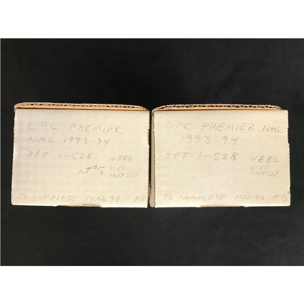 1993-94 OPC PREMIER HOCKEY CARDS (1-528) X2