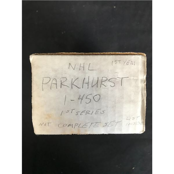 1st YEAR NHL PARKHURST 1st Series (1-450) Not Complete