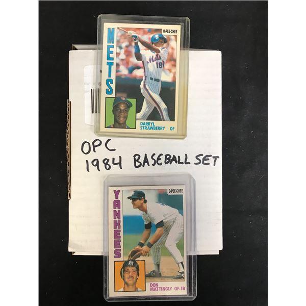 1984 O-PEE-CHEE BASEBALL CARD SET