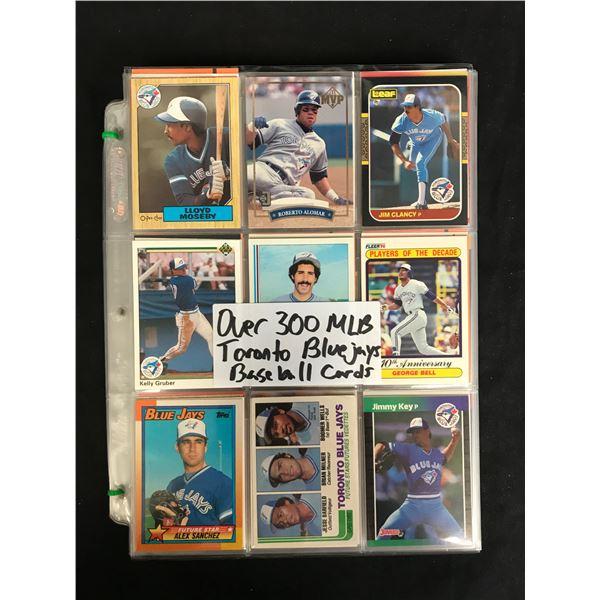 300+ TORONTO BLUE JAYS BASEBALL CARDS