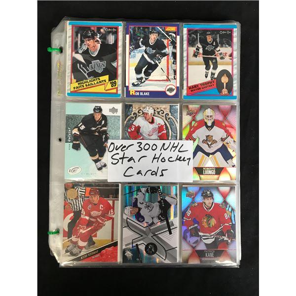 300+ NHL HOCKEY STARS CARDS