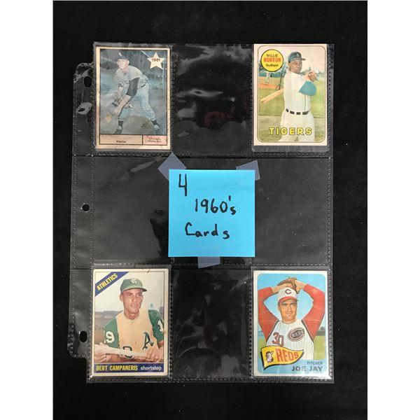 1960s BASEBALL CARD LOT