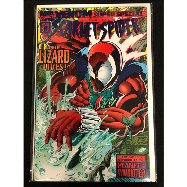 VENOM SUPER SPECIAL Featuring SCARLET-SPIDER Part 3 of 5 (MARVEL COMICS)