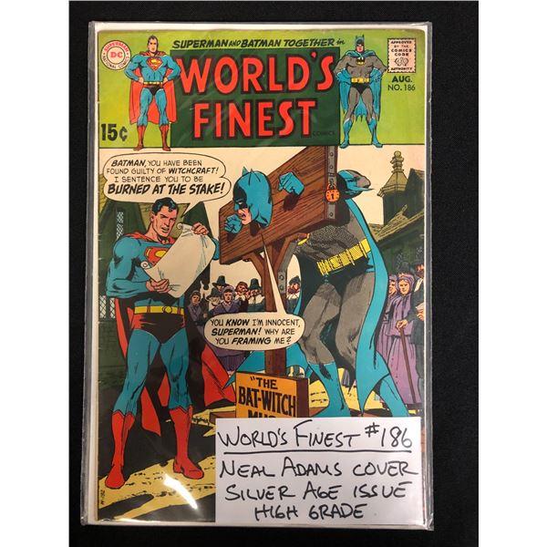 WORLD'S FINEST #186 (DC COMICS)