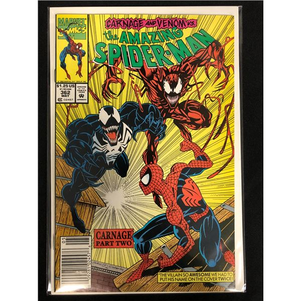 THE AMAZING SPIDER-MAN #362 (MARVEL COMICS)