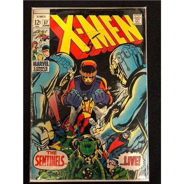 X-MEN #57 (MARVEL COMICS)