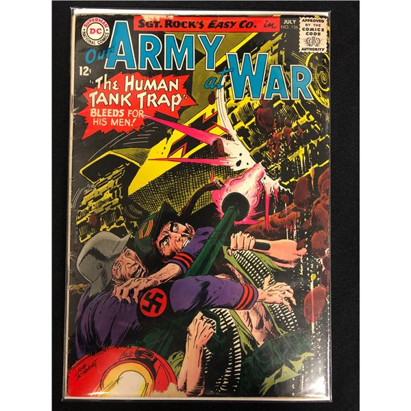 OUR ARMY AT WAR #156 (DC COMICS)