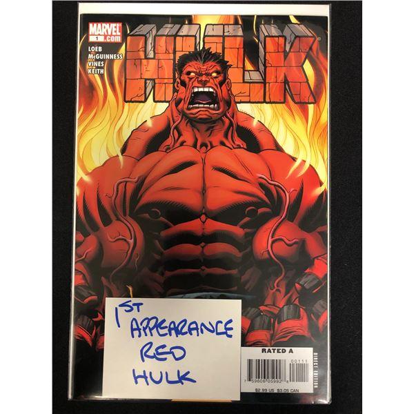 HULK #1 (MARVEL) 1st App. Red Hulk