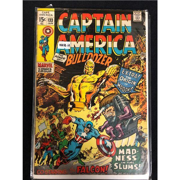 CAPTAIN AMERICA #133 (MARVEL COMICS)