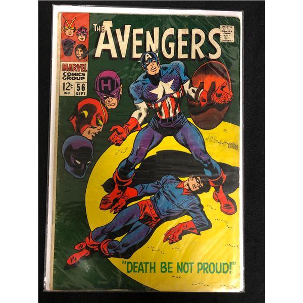 THE AVENGERS #56 (MARVEL COMICS)
