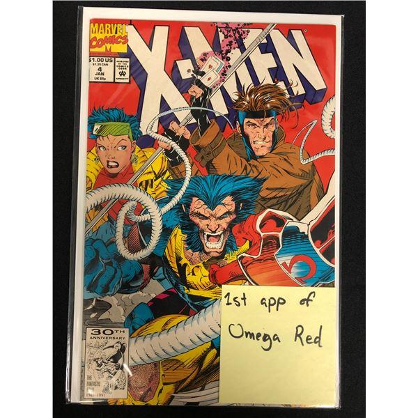 X-MEN #4 (MARVEL COMICS) 1st App. Omega Red